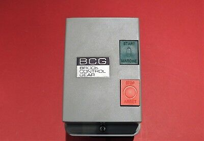 Brooke Control Gear S12/CZ5 - Motor Stop Starter Enclosure Only