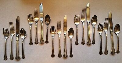 Estate Sterling Silver 18th Century Reed & Barton 4 Piece Place Setting Multiple