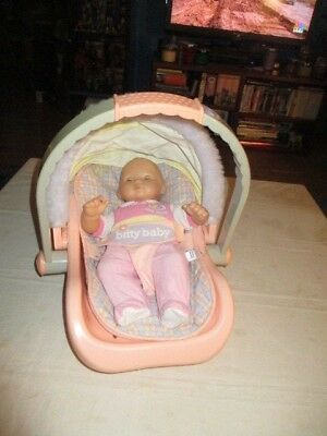 American Girl Bitty Baby Car Seat Carrier W