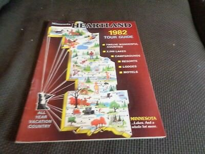 1982 Minnesota Heartland Travel Guide Brainerd Lakes Park Rapids Bemidji Warroad