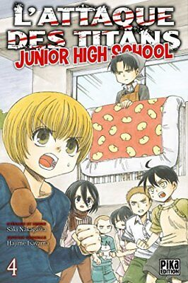 L'Attaque des Titans - Junior High School T04 Hajime Isayama Pika 176 pages