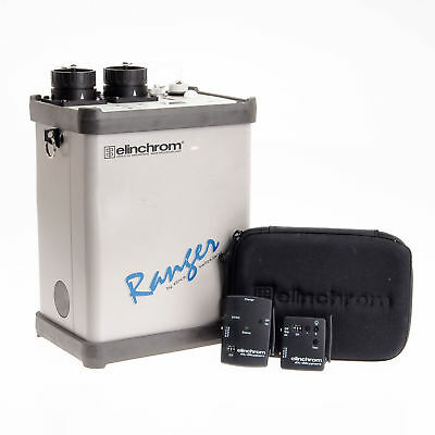 Elinchrom Ranger Kit: 1100 Watt/Second Power Supply, Sync Cord, Rapid Charger