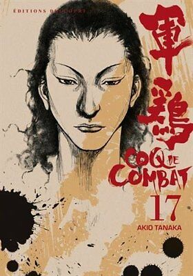 Coq de combat, Tome 17 (NED) Akio Tanaka DELCOURT Reedition 256 pages 01/10/2014