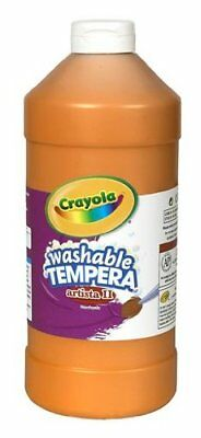 Crayola Washable Tempera Paint - 2 Lb - 1each - Orange (543132036)