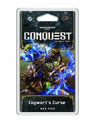 Warhammer 40,000 Conquest Lcg - Zogwort's Curse Pack Expansion Gmc Crds WHK05