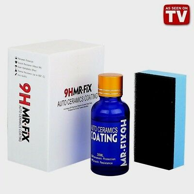9H MR FIX - AUTO CERAMICS COATING As Seen On TV  / Free Shipping !