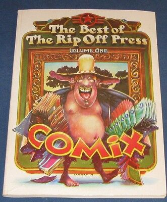 The Best Of Rip Off Press  Volume 1  Underground Comix   1st Printing