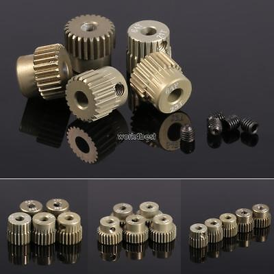 New 64DP 3.175mm Pinion Motor Gear Set for 1/10 RC Car Brushed Brushless WST