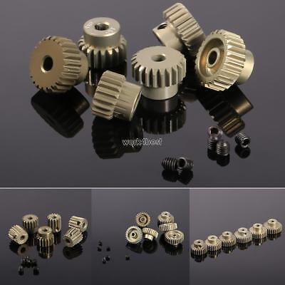 New 48DP Pinion Motor Gear Combo Set for 1/10 RC Car Brushed Brushless WST