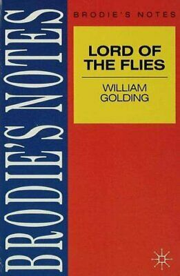 Golding: Lord of the Flies (Brodie&quote;s Notes) by NA, NA Paperback Book The