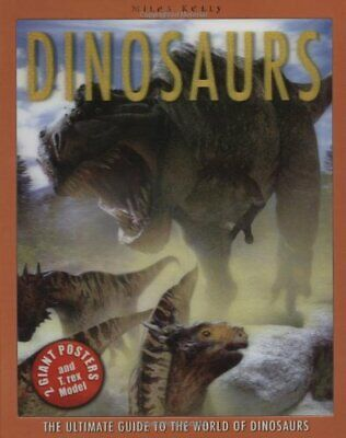 Dinosaur Poster Book (Poster Books) by Steve Parker Spiral bound Book The Cheap