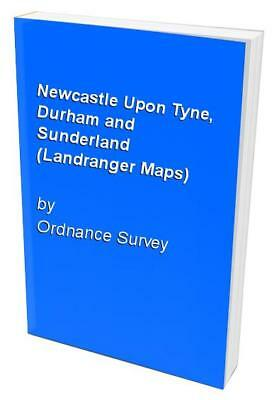 Newcastle Upon Tyne, Durham and Sunderla... by Ordnance Survey Sheet map, folded