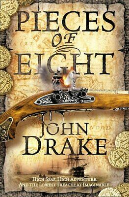Pieces of Eight (John Silver 2) by Drake, John Paperback Book The Cheap Fast