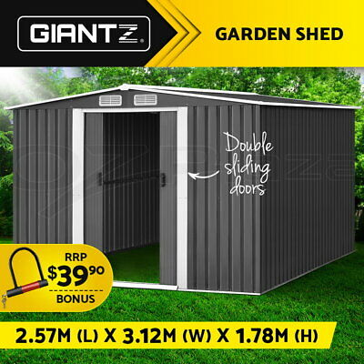 6X3X2M Walk In Greenhouse Tunnel Plant Garden Storage Grow Sheds Green House