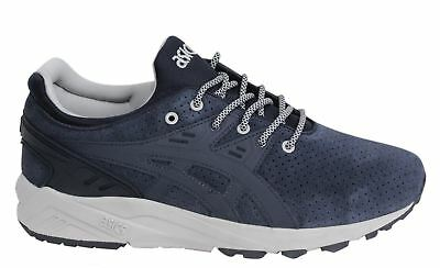 ASICS GEL KAYANO EVO Lace Up Black Textile Mens Trainers