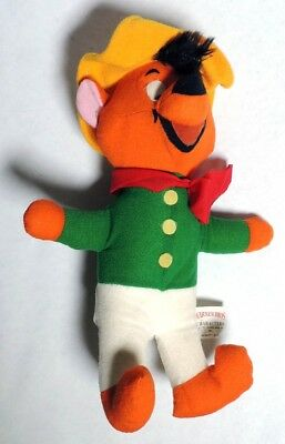 ESZ3401. Vintage: Looney Tunes SPEEDY GONZALES PLUSH DOLL Mighty Star (1971)