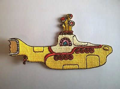 The Beatles - Yellow Submarine Iron On Patch