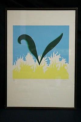 Gino Marotta (1935) Lithography Three Colours Signed & Numbered 328/500