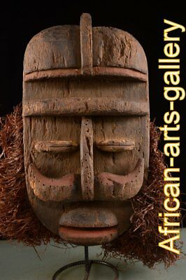 55712 OLD MASK OF WIR / We DR Congo / Congo Africa