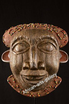 1296 Helmet Mask of the Bamun Cameroon Cameroon Africa