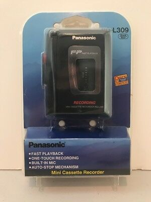 Panasonic RQ-L309 Standard Cassette Tape Recorder BRAND NEW SEALED