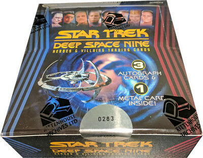 Star Trek DS9 Heroes & Villains Factory Sealed Box of 24 Packs