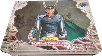 Thor Ragnarok Movie Complete 50 Card Foil Enhanced Base Set