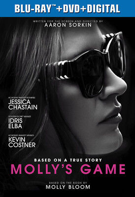 Molly's Game [New Blu-ray] With DVD, 2 Pack