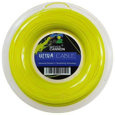 Weiss Cannon Ultra Cable ( 200m Rolle ) neon-gelb 1,23 mm (0,45 EUR/m)