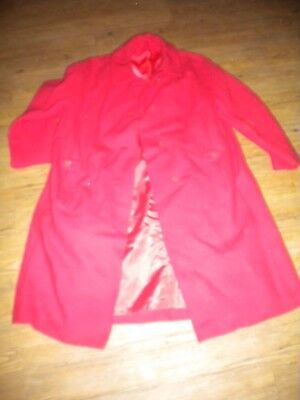 Ladies pink sz M-L ?  Coat Shari Jr. brand ,  vintage ? Feels like wool blend ?