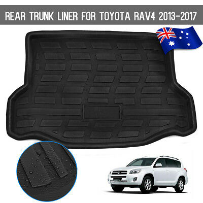 AU Waterproof Car Rear Trunk Mat Cargo Boot Liner Tray For Toyota RAV4 2013-2017