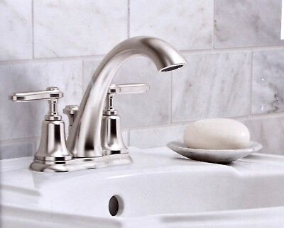 CHROME DELTA Windemere 2-Handle 6 In. To 16 In. Widespread Lavatory ...