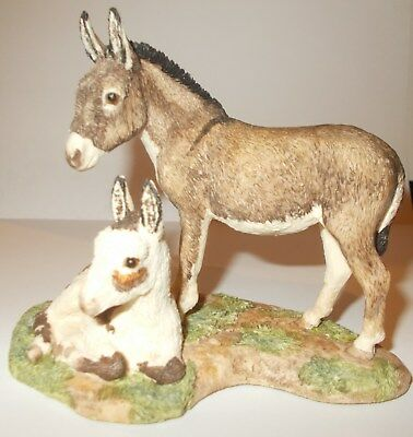 "Border Fine Arts Jh85  Figurine ""jenny & Penny"" - Every Living Thing"