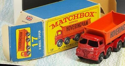 Matchbox 17d Foden /& 51c//d Leyland Tipper Reproduction White Metal Tailgate