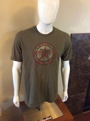 texaco gas station large t shirt
