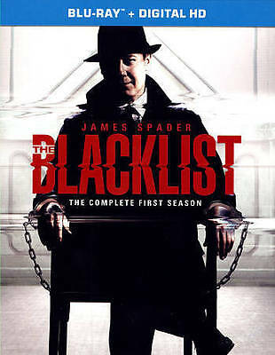 The Blacklist: The Complete First Season 1 One (Blu-ray Disc, 2014, 5-Disc Set)