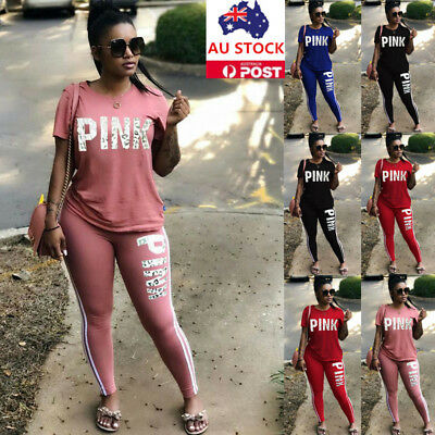 Plus Size 2Pcs Women Tracksuit Hoodies Sweatshirt Pant Set Sportwear Casual Suit
