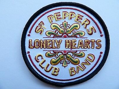 The Beatles - Sgt Pepper Iron On Patch