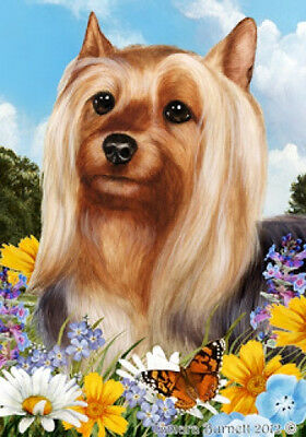 Garden Indoor/Outdoor Summer Flag - Silky Terrier 181021