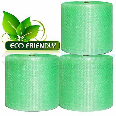 Green Jiffy Eco Bubble Wrap Roll 300mm x 100M Small Bubble Packing Wrapping