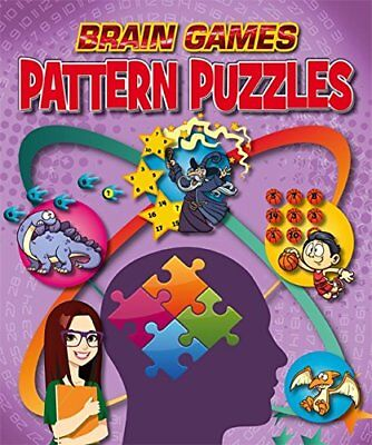 Pattern Puzzles (Brain Games) New Hardcover Book