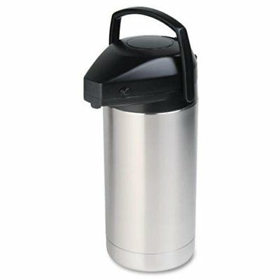 Hormel Commercial Grade Insulated Jumbo Airpot - Stainless Steel, Abs Plastic -