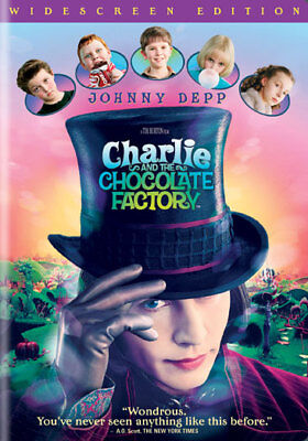 Charlie and the Chocolate Factory (DVD,2005)