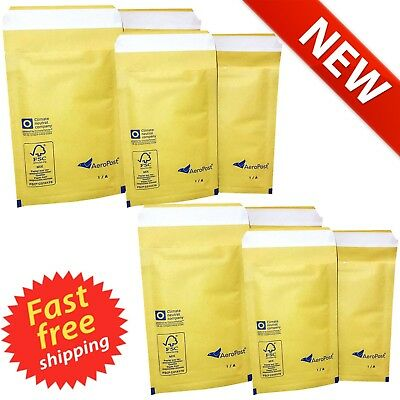 Padded Envelopes Bubble Mailing Bags Postal Wrap Mailer AP 6 - 220mm x 340mm