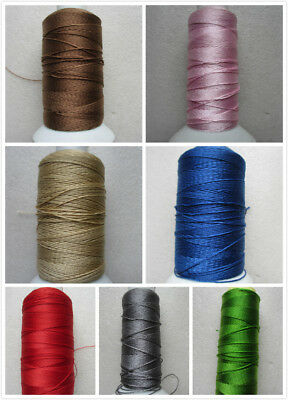 10 - 30M 0.7mm Nylon Cotton Cord String Thread Jewellery Making Choose 11 Colour