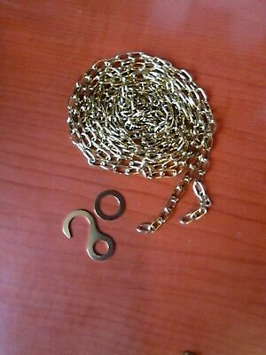 "New Old Stock Cuckoo Clock Weight Chains 77""   48 LPF.   (165H)"