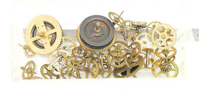 Good Lot Antique & Vintage clock wheels gears Watchmakers watch parts Steampunk