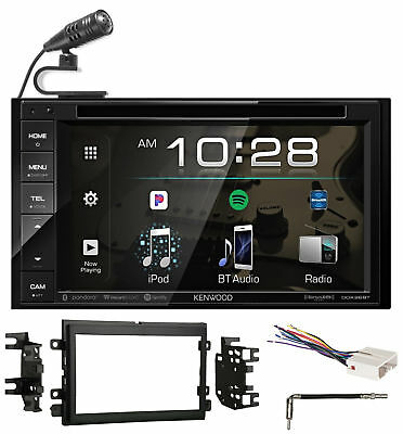 Kenwood DVD/iPhone/Bluetooth/USB Receiver Stereo Radio For 2007-2008 Ford F-150