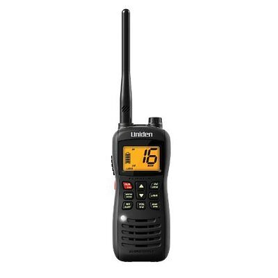 Uniden Mhs126 Submersible Handheld Two-way Vhf Marine Radio - For Marine With