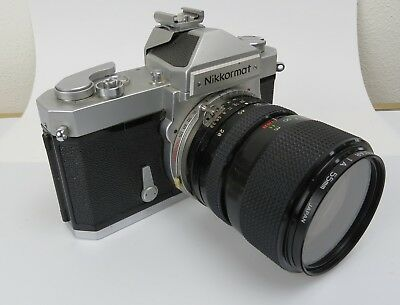 VTG Nikon Japan Nikkormat FT 3216604  Seikanon F 28 - 70 mm No 8670255